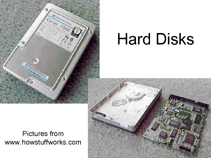 Hard Disks Pictures from www. howstuffworks. com
