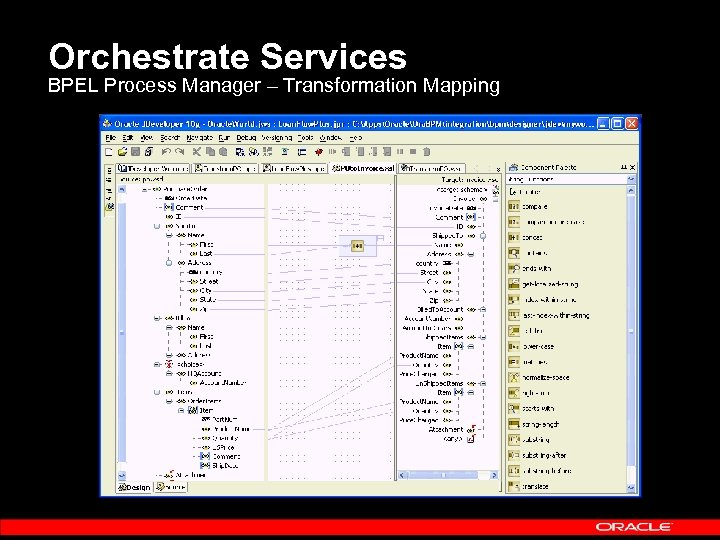 Orchestrate Services BPEL Process Manager – Transformation Mapping