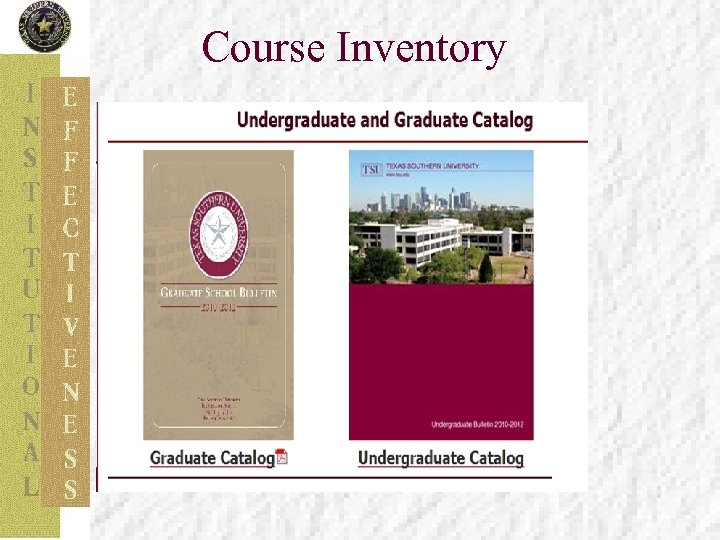 Course Inventory