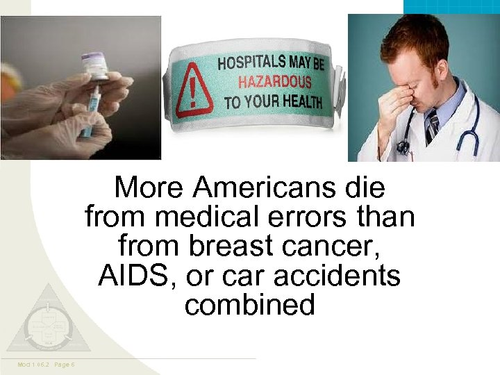 Valley. Care ™ More Americans die from medical errors than from breast cancer, AIDS,