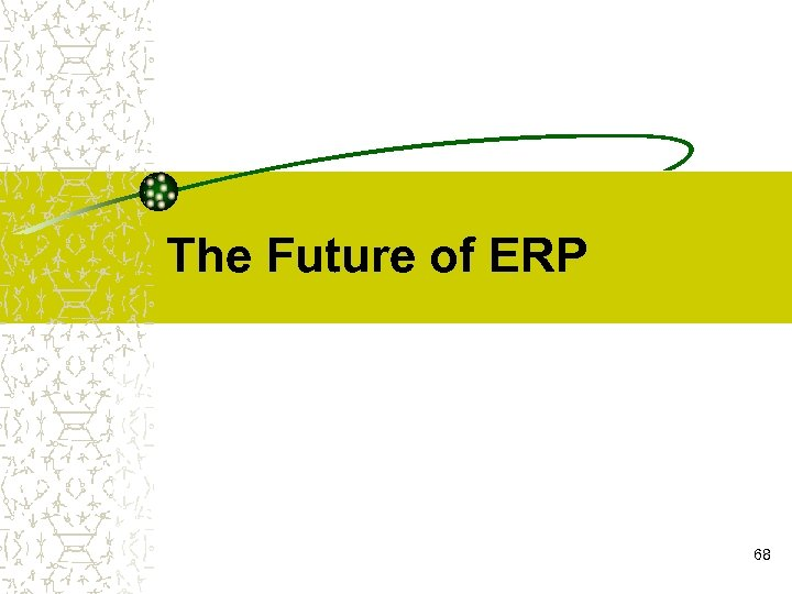 The Future of ERP 68