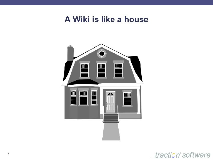 A Wiki is like a house 7