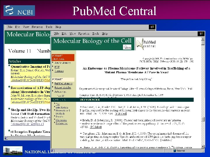 Pub. Med Central NATIONAL LIBRARY OF MEDICINE