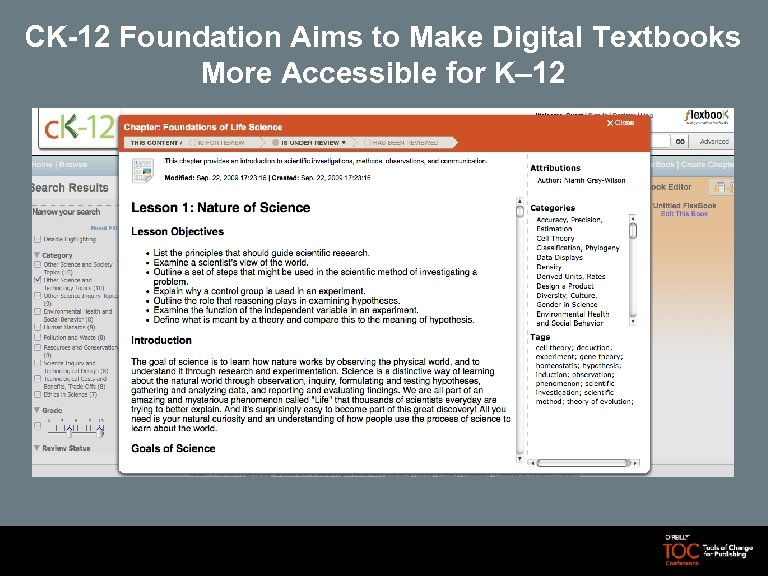 CK-12 Foundation Aims to Make Digital Textbooks More Accessible for K– 12