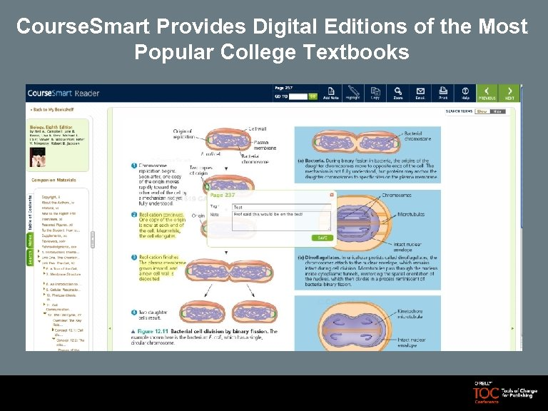 Course. Smart Provides Digital Editions of the Most Popular College Textbooks