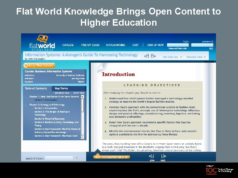 Flat World Knowledge Brings Open Content to Higher Education