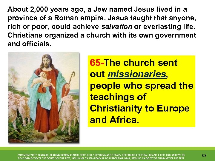 About 2, 000 years ago, a Jew named Jesus lived in a province of