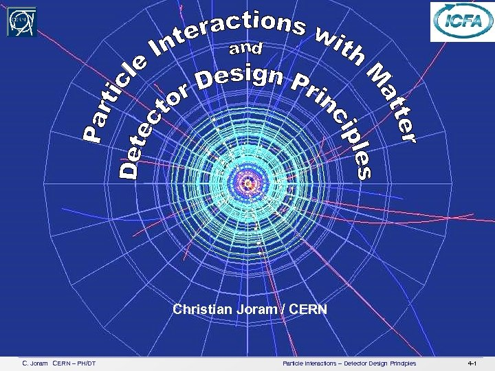 XI ICFA School on Instrumentation in Elementary Particle Physics Christian Joram / CERN C.