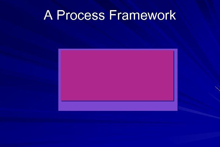 A Process Framework