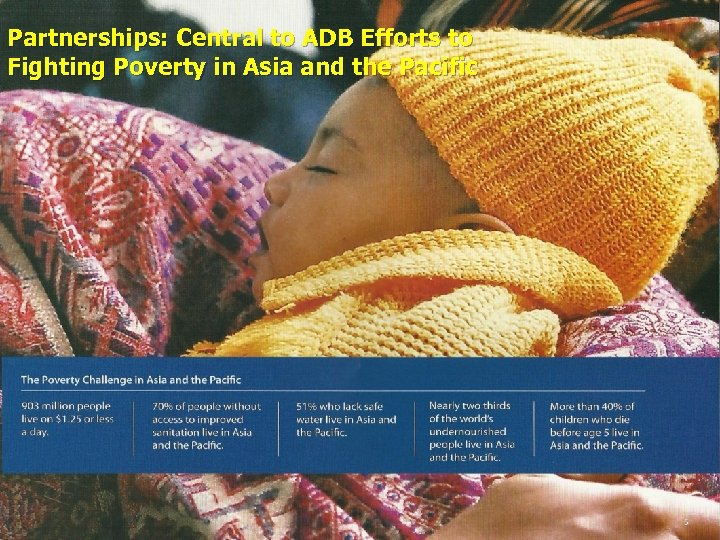 Partnerships: Central to ADB Efforts to Fighting Poverty in Asia and the Pacific