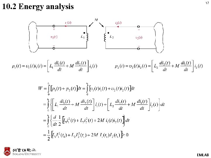 10. 2 Energy analysis 17 EMLAB