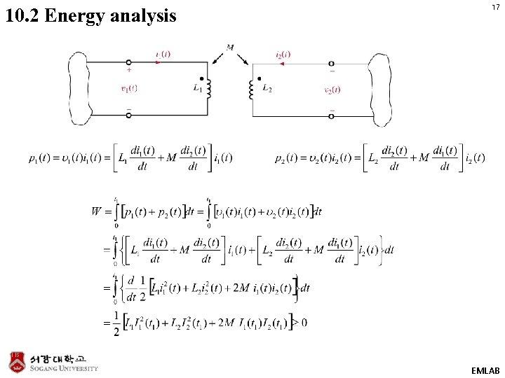 10. 2 Energy analysis 17 EMLAB