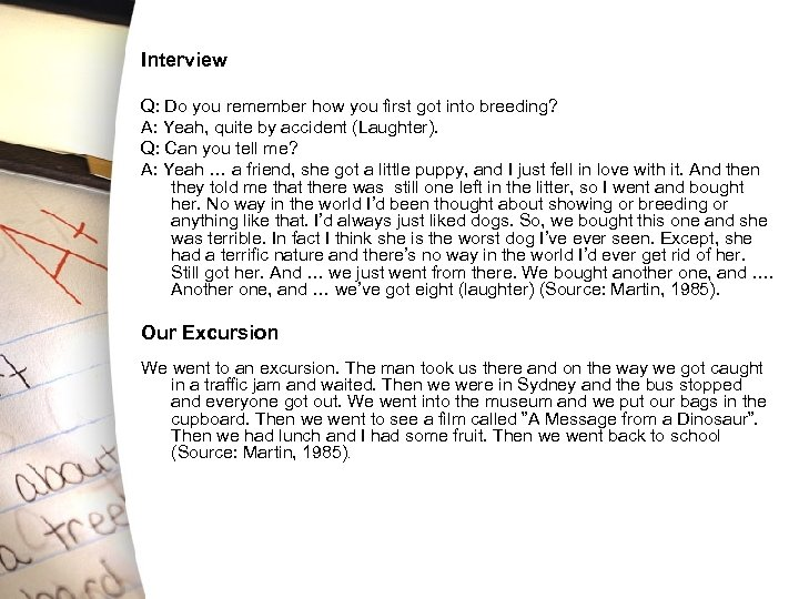 Interview Q: Do you remember how you first got into breeding? A: Yeah, quite