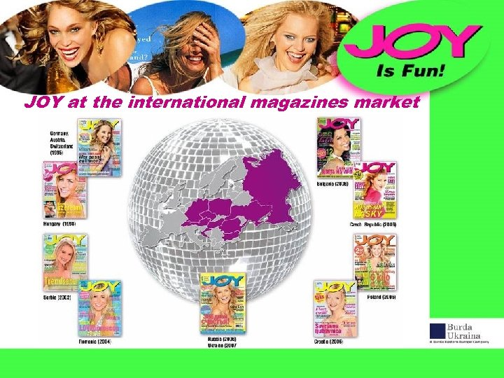 JOY at the international magazines market