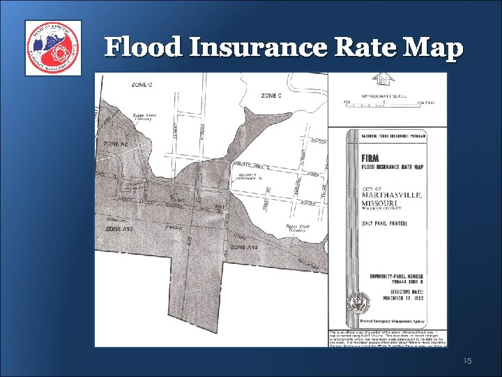 Flood Insurance Rate Map 15