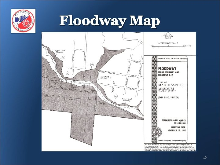 Floodway Map 16