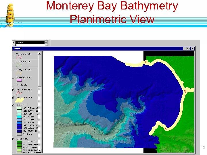 Monterey Bathymetry Planimetric View 12