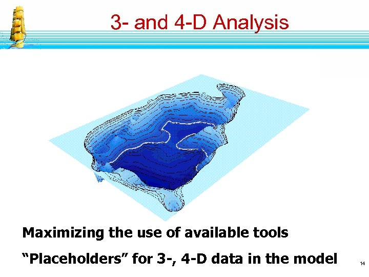 """3 - and 4 -D Analysis Maximizing the use of available tools """"Placeholders"""" for"""