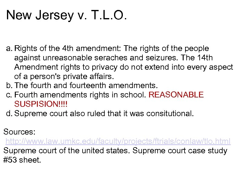 Rights Of The 4 Th Amendment The