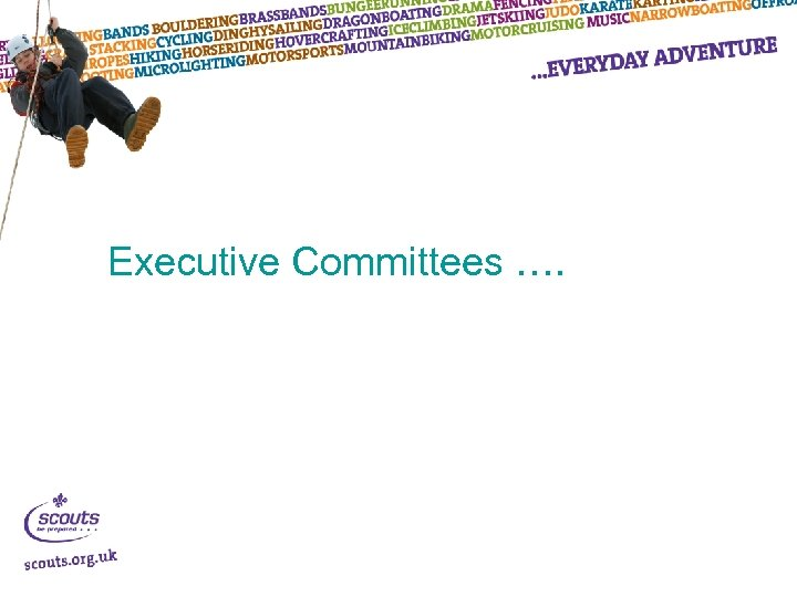 Executive Committees ….