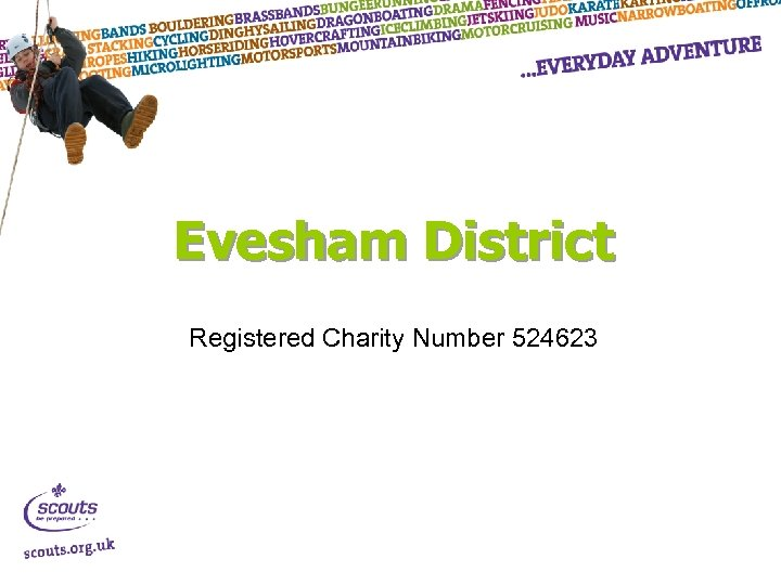 Evesham District Registered Charity Number 524623