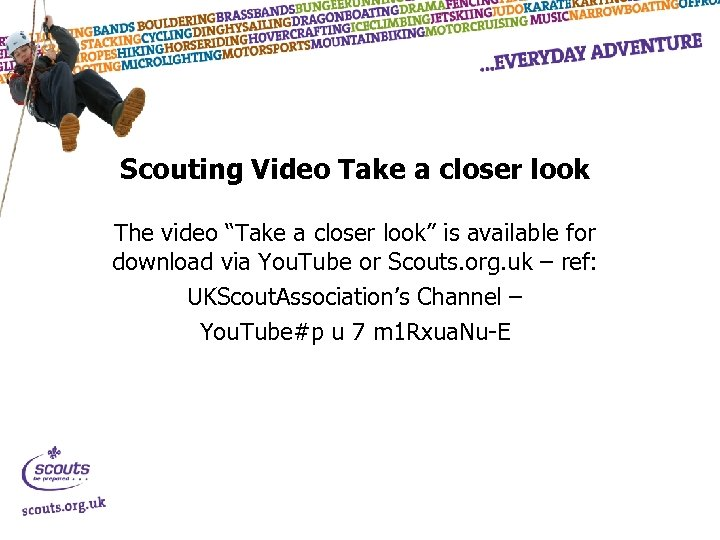 "Scouting Video Take a closer look The video ""Take a closer look"" is available"