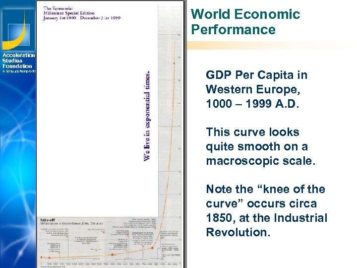 World Economic Performance Acceleration Studies Foundation A 501(c)(3) Nonprofit GDP Per Capita in Western