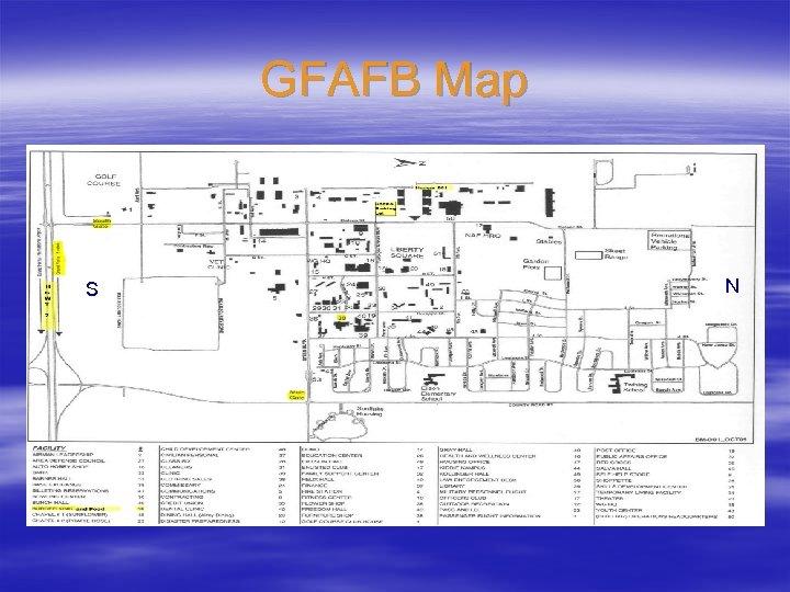 GFAFB Map S N