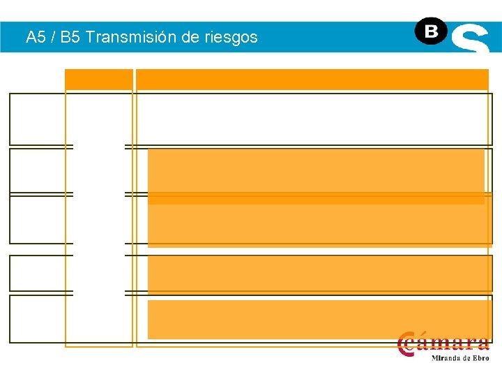 A 5 / B 5 Transmisión de riesgos