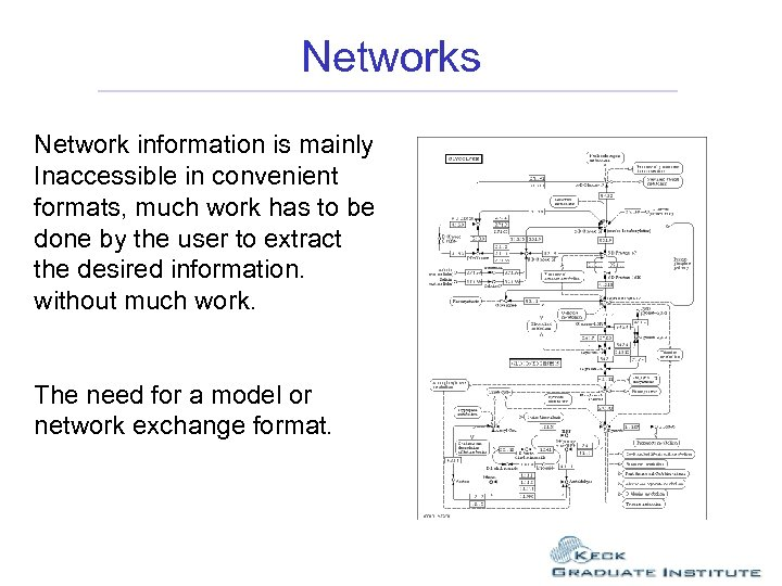 Networks Network information is mainly Inaccessible in convenient formats, much work has to be