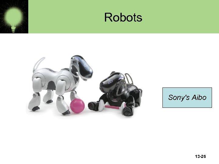 Robots Sony's Aibo 13 -26