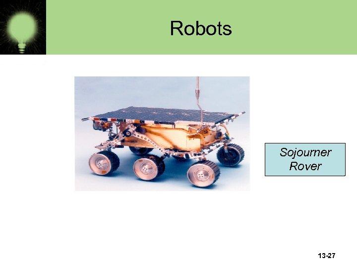 Robots Sojourner Rover 13 -27