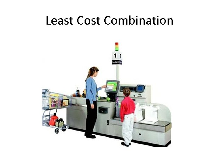 Least Combination
