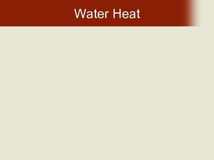 Water Heat