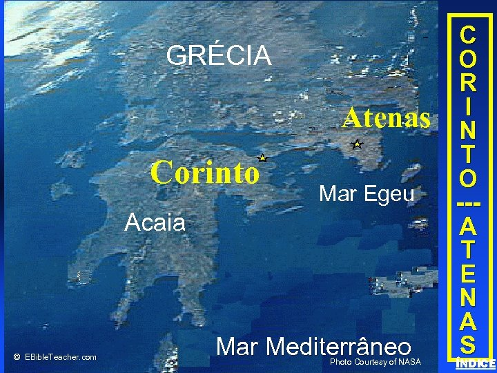Corinth/Athens GRÉCIAadd title Click to • Click to add text Corinto Atenas Mar Egeu