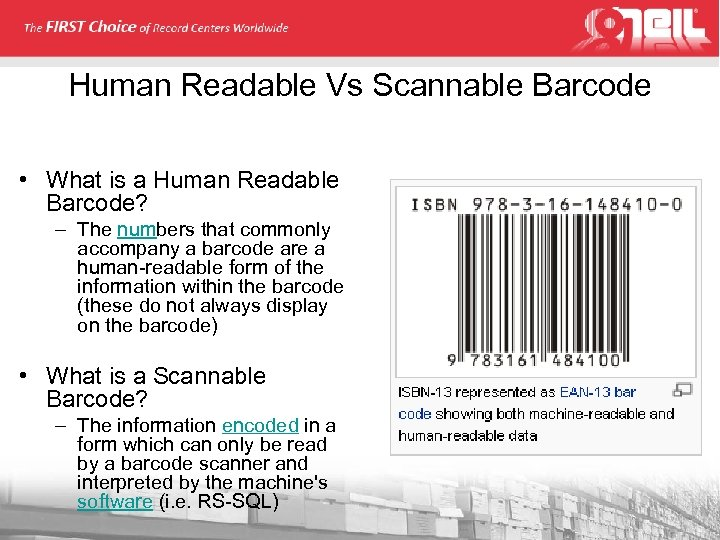 Human Readable Vs Scannable Barcode • What is a Human Readable Barcode? – The