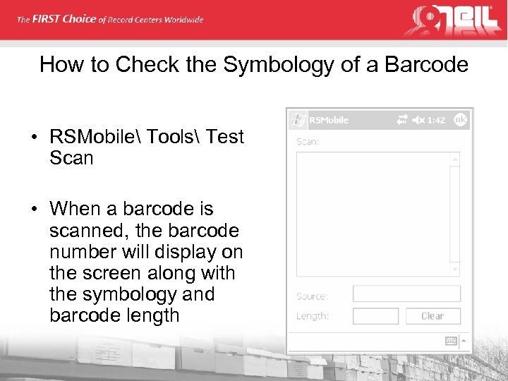 How to Check the Symbology of a Barcode • RSMobile Tools Test Scan •