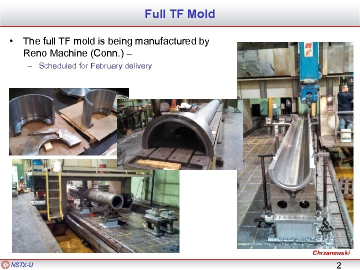 Full TF Mold • The full TF mold is being manufactured by Reno Machine