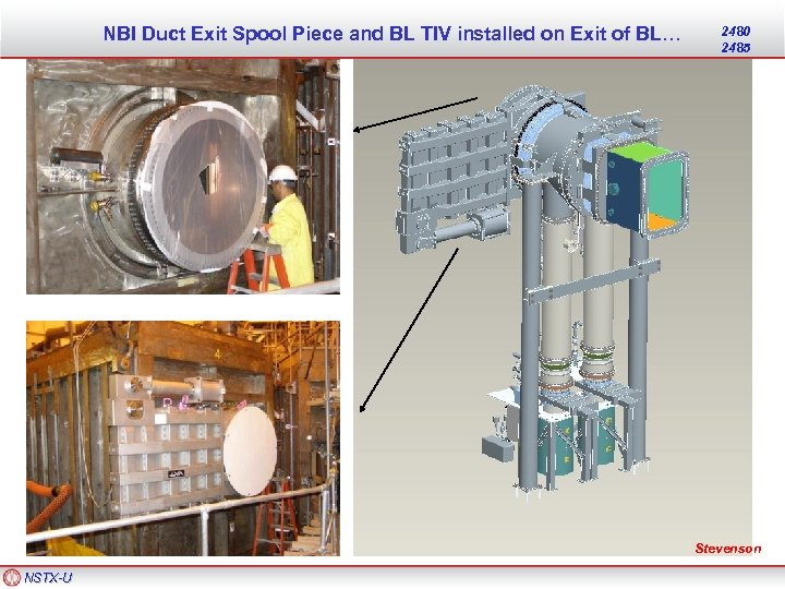NBI Duct Exit Spool Piece and BL TIV installed on Exit of BL… 2480