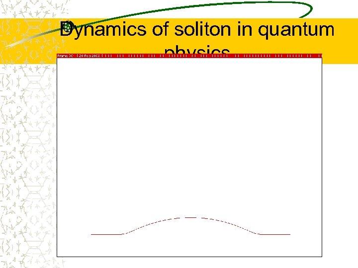 Dynamics of soliton in quantum physics