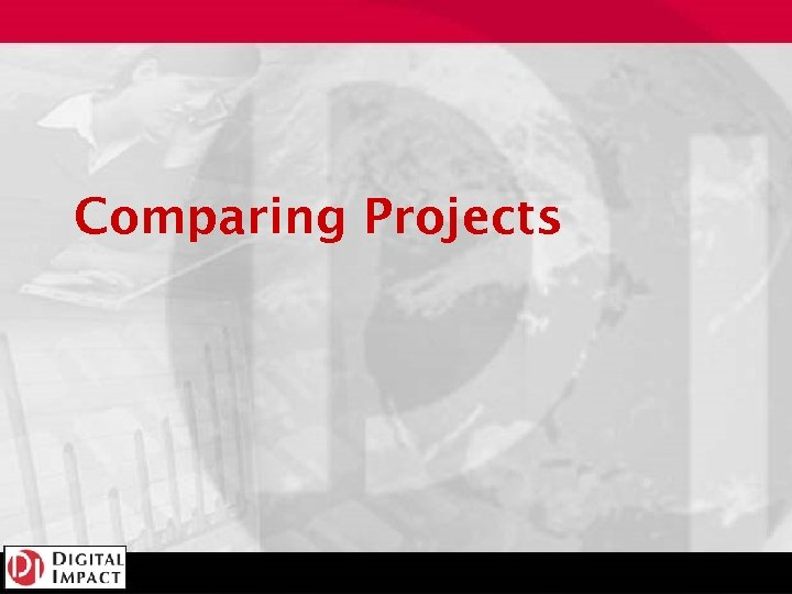 Comparing Projects