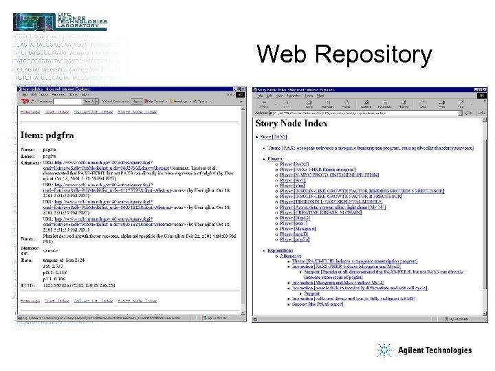 Web Repository