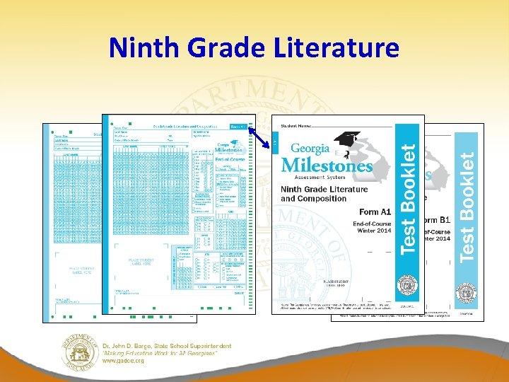 Ninth Grade Literature