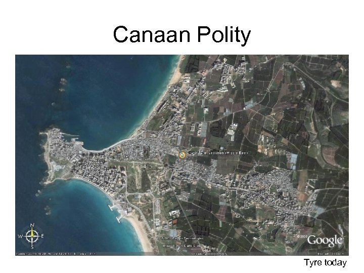 Canaan Polity Tyre today
