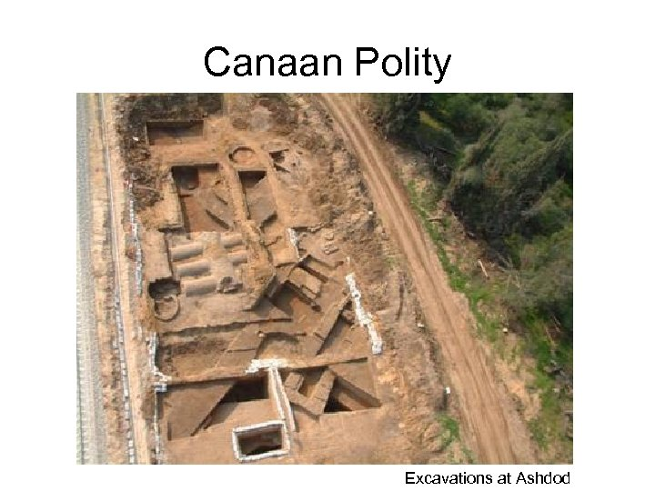 Canaan Polity Excavations at Ashdod