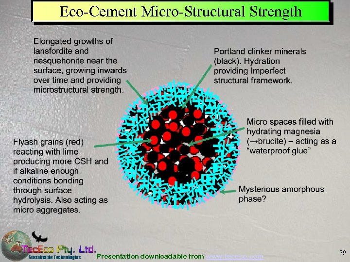 Eco-Cement Micro-Structural Strength Presentation downloadable from www. tececo. com 79