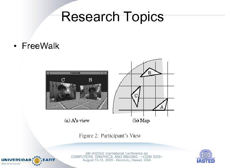 Research Topics • Free. Walk
