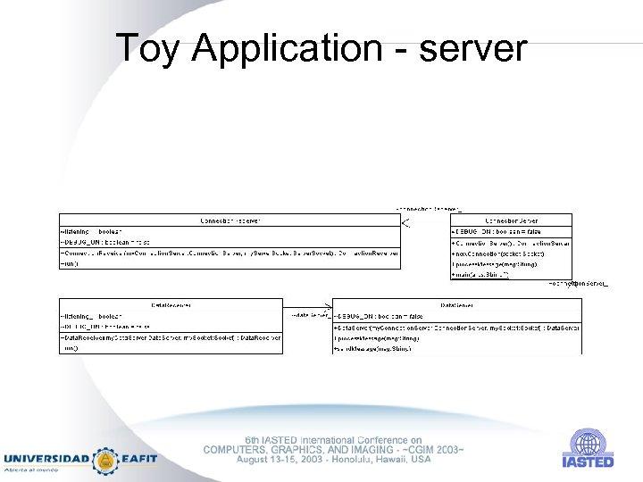 Toy Application - server