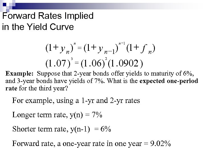 Bond Prices and Yields CHAPTER 9 Bond
