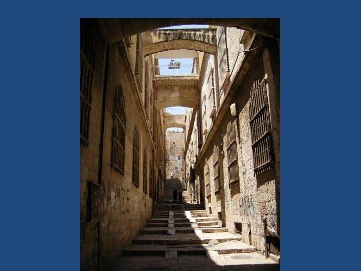 Straatjes in Jeruzalem